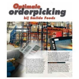 Optimale orderpicking bij Smilde Foods